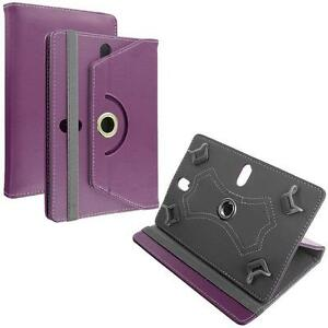 Faux Rotating Leather Folio Flip Case Cover Stand Box For LG G PAD w/ Styus Pen
