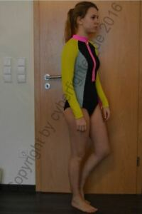 VINTAGE H&M Badeanzug - Schwimmanzug - Body - Bikini -Gr. 40 / M-L / 188- SELTEN