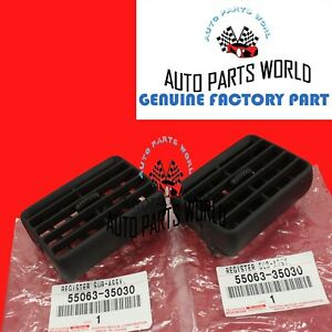 NEW GENUINE TOYOTA 1996-2002 4RUNNER CENTER DASH AIR VENT SET OF 2 X 55063-35030