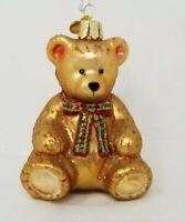 Merck Old World Christmas  Vintage Teddy Bear  Ornament  New