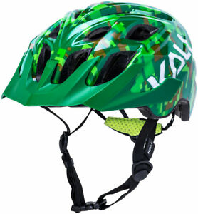 Kali Protectives Chakra Youth Helmet - Pixel Green, Youth, One Size