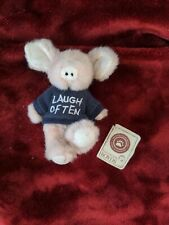 Boyds Bears Mini Piggy  T Her Laugh Often Sweater. Tag Not Attached