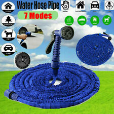 New listing Deluxe 150 Feet 150 Ft Expandable Flexible Garden Water Hose with Spray nozzle
