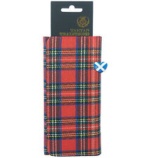 Tartan Femmes Sac à main Rectangle Forme cartes de crédit Zip Argent Poche Sac à main Scot