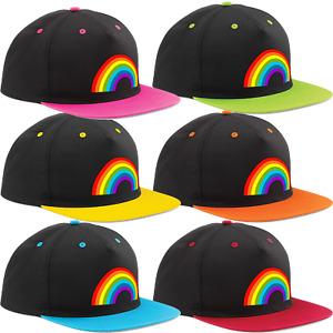 Regenbogen Thank You Nhs Snapback Kappe Verstellbar Premium Auswahl 6 Farben