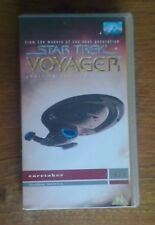 Collectable Star Trek Voyager Caretaker parts 1 & 2 VHS Video – Excellent Condn.