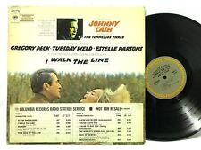 Johnny Cash Soundtrack to I Walk the Line PROMO Columbia 30397 LP Vinyl Record