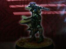 Infinity Corvus Belli Haqqislam Murabid Tuareg Sniper Rifle miniature Red Veil