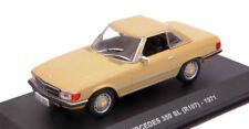 Mercedes 350 Sl (r107) 1971 Beige 1:43 Model 4302200 SOLIDO