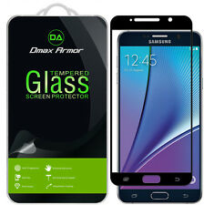 2x Dmax Armor Samsung Galaxy Note 5 Tempered Glass Full Cover Screen Protector