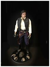 "1/6 Hot Toys Custom Han Solo Sideshow 12"" Figure"
