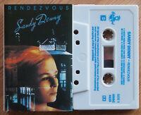 SANDY DENNY - RENDEZVOUS (HANNIBAL HNBC4423) 1986 (1973) UK CASSETTE TAPE FOLK