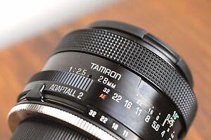 TAMRON (for Pentax PK Bayonet)  BBAR MC 28mm f/2.5 Lens  - EXC * Made in Japan *
