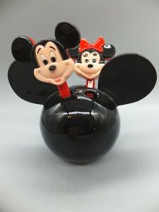Disney Mickey Mouse Toothbrush (4 Hole) Holder - Mickey and Minnie toothbrushes