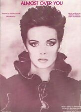 """SHEENA EASTON """"ALMOST OVER YOU"""" SHEET MUSIC-EXTREMELY RARE-BRAND NEW ON SALE!!"""