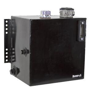 25 Gal Hydraulic Reservoir w/ Return Line Filter Buyers SMR25SF10 9-7950-F10