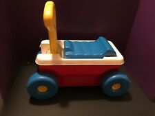 Vintage Fisher Price LITTLE RED RIDE ON 1990s Outdoor Toy Trike cute