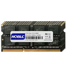 New 32GB 4x8GB 2RX8 DDR3-14900S 204pin 1.5V 1866Mhz NON ECC SODIMM Laptop memory