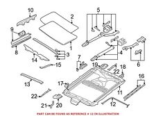 For BMW Genuine Sunroof Seal 54128185757