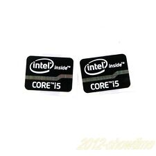 5pcs NEW Core i5 Inside 2/3 21x15.5mm Sticker Badge Label CASE for laptop ST014
