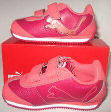 NIB Girls Kids PUMA Speeder Illuminesc Cerise/Dubarry Athletic Shoes Size 6