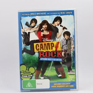 Camp Rock (DVD, 2008) R4 Movie Good Condition Free Tracked Post