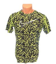 Nike Pro Combat Dri Fit Short Sleeve Fitted Athletic Shirt Youth Boy's XL NWT