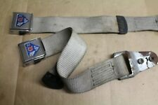 PAIR OF BMC BRITAX SEATS BELTS ,TUNNEL/LAP SECTION ONLY,AUSTIN MINI,MORRIS MINOR