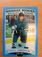 O-Pee-Chee 2019-2020 DANIL YURTAYKIN BLUE BORDER ROOKIE CARD #620 SAN JOSE