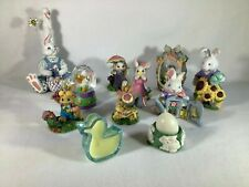 Easter Figurines and Candles, Lot of 11