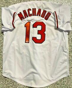 Baltimore Manny Machado Autographed Jersey Signed PSA DNA COA