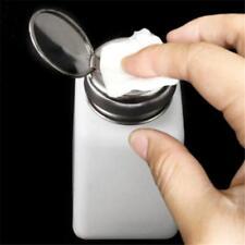 Polish Nail Art Novel Remover Plastic Pump Dispenser Press Bottle Tools HO3
