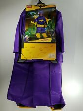 Halloween Costume Girl Lego Batman Batgirl Size L 10-22 Fantasy Dress Up GK