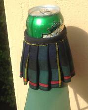 MacLeod Tartan Plaid Beer Bottle Koozie Kilt With Sporran Christmas Gift