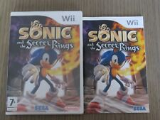 JEU NINTENDO WII WII U  SONIC AND THE SECRET RINGS  COMPLET