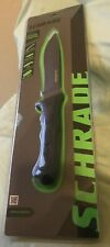 Schrade Fixed Blade Full Tang Extreme Survival SCHF9N BRAND NEW with Sheath
