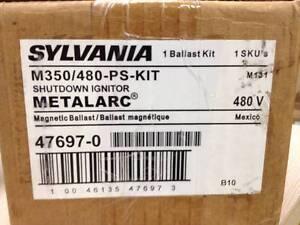SYLVANIA 47697 M350/480-PS-KIT MAGNETIC BALLAST KIT 480V M131