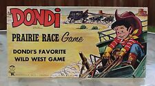 Dondi Prairie Race Board Game Wild West Game Complete Vintage Original 1950's