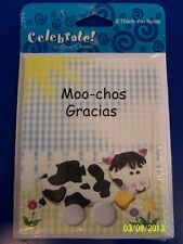 RARE Happy Birthday Little One Farm Barnyard Party Thank You Notes w/Envelopes