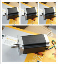 4pcs Nema34 stepper motor 1232 oz.in bipolar 34HS1456  5.6A 4wiresCNC ROUTER