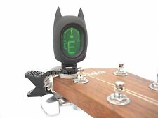 Novelty Super Hero Ukelele, Bass, Violin, Guitar Tuner Electronic Clip on Tuning