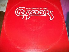 The Crusaders-The Best Of The-LP-ABC-Gatefold-Vinyl Record-VG+