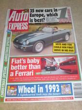 AUTO EXPRESS - MG RV8 Dec 18-29 1992 Issue 221-222