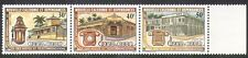 New Caledonia 1983 Post Office/Buildings/Telephone/Palm Trees 3v stp (n38005)