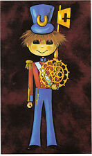 """Vintage 1970's Happy 21st Birthday Greeting Card ~ """"Key to the Door"""" 21 Years."""