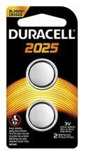 2 Pack Duracell CR2025 3 Volt Battery ECR2025 CR 2025 DL2025