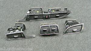 Audi A6 S6 RS6 4G Luftausstroemer Output Illuminated Set 4G1 820 901