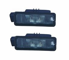 VW Golf Plus 2009-2014 Number Plate Licence Lamp Pair Left & Right