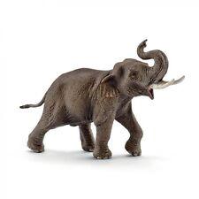 P4) Schleich (14754) Asiatischer Elefantenbulle Elefant Elefanten Schleichtiere