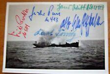 More details for v/rare - multi signed photograph including  karl donitz + 4 -  lot 4